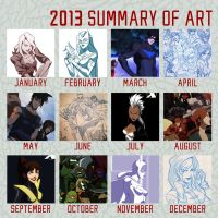 2013 Summary of Art by MatthewB3