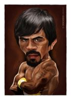 Pacman Pacquiao by ijographicz