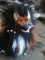 Maned Wolf Art Doll -FOR SALE- by TunnySaysIDK