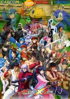 Project X Zone cover by SuperSaiyanCrash