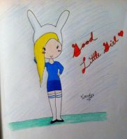 Fionna The Human Colored by katsumi12595