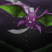 Siot  the Shiny Crobat by SunsetFlareX