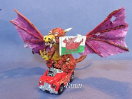 Red Dragon for competition by fanai59