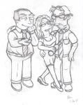 Bart's Co-Workers 1 by simpspin