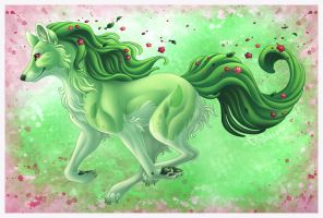 Green Beauty by DolphyDolphiana