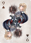 AP: 9 of clubs by lShiionl