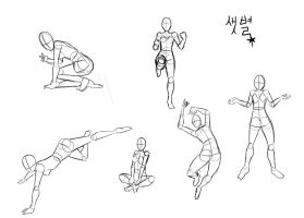 Poses 2 by Set-Byul