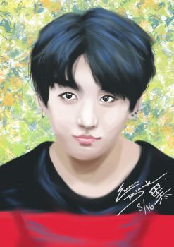 Jungkook by under-the-horizon