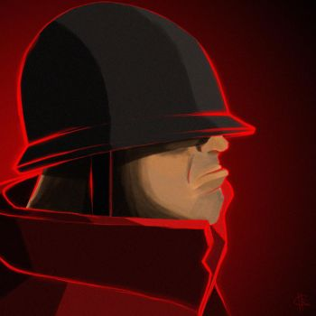 RED Soldier by Roldsie