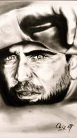 Mel Gibson by ChizPortraits