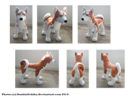 .:Custom Riki plush:. by BeachBumDunkin