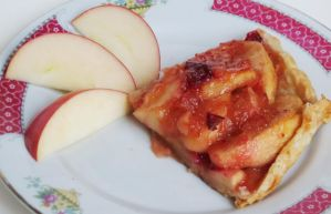 Apple-Cranberry Tart by Kitteh-Pawz