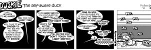 Duckie the Self Aware Duck 34 by CptMunta