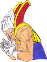 Majin Baby Vegeta (2nd Form) by DBZ2010