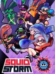 Squid Storm Poster by MichellePow