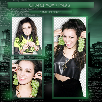 +Pack Png {Charli XCX - 2} by ChaeliCamo
