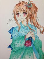 Copic Blending Practice Drawing ~ by animeart7265