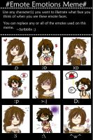 Emotion Meme with AnnaMEH by OtakuPup