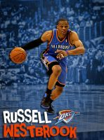 Russell Westbrook 0 by rhurst
