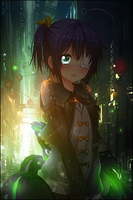 Chuunibyou? No, it's an Angel - A Gift to Angelic by TheIzaya