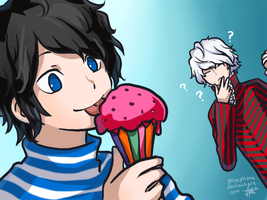 DeSu 2: Alien Ice Cream by ShiSeptiana