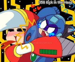 058 - Kick in the Head by Kamira-Exe