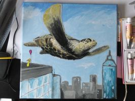 turtle without edding by SmallScaleArtist