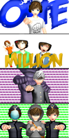 One million Bros, BICHES! by AleNor1