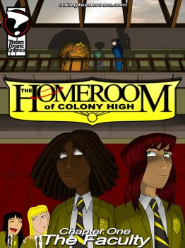 Homeroom Cover 001 by What-the-Gaff