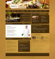 Restaurant Layout by IkeGFX