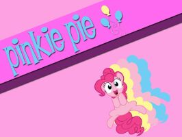 Pinkie Pie Background by NightmareWubs
