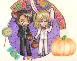 Tiger and Bunny: Halloween by Moon-68