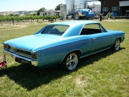 1967 Chevrolet Chevelle SS 396 at the winery by RoadTripDog