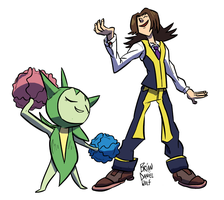 Fabulous Trainer Wants to Battle! by BrianDanielWolf