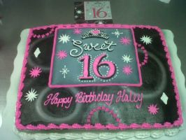 Sweet 16 by AingelCakes