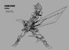 Cloud Strife FFVII by FF69