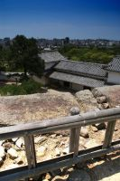 Himegi Castle view by Razamanaz