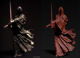 Speed Sculpt (Ringwraith) by tetsuok9999