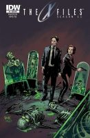 The X-Files Season 11 #6 variant by RobertHack