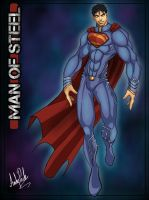 MAN OF STEEL by dj-andy