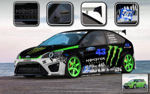 Ford - Focus RS 2009 by leandroconradt95