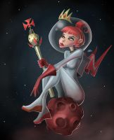 Red Moon Princess by Sodano