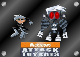 DANNY AND DANNYBOT by mayozilla