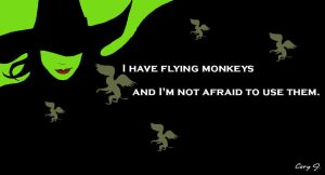 I have flying monkeys... by Cor104