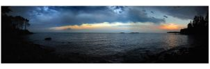 Storm Approaching Superior by richardcgreen