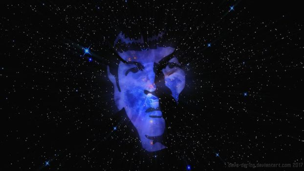 Spock by Dave-Daring