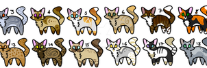 [Open] Cat Adopts by BudgieAdoptz