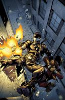 SnakeEyes 5 Cover B by spidermanfan2099