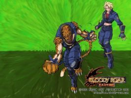 Bloody Roar Extreme Shina by Sideswipe217