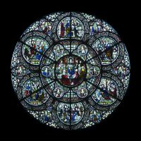 Chapter House rose window by sth22art